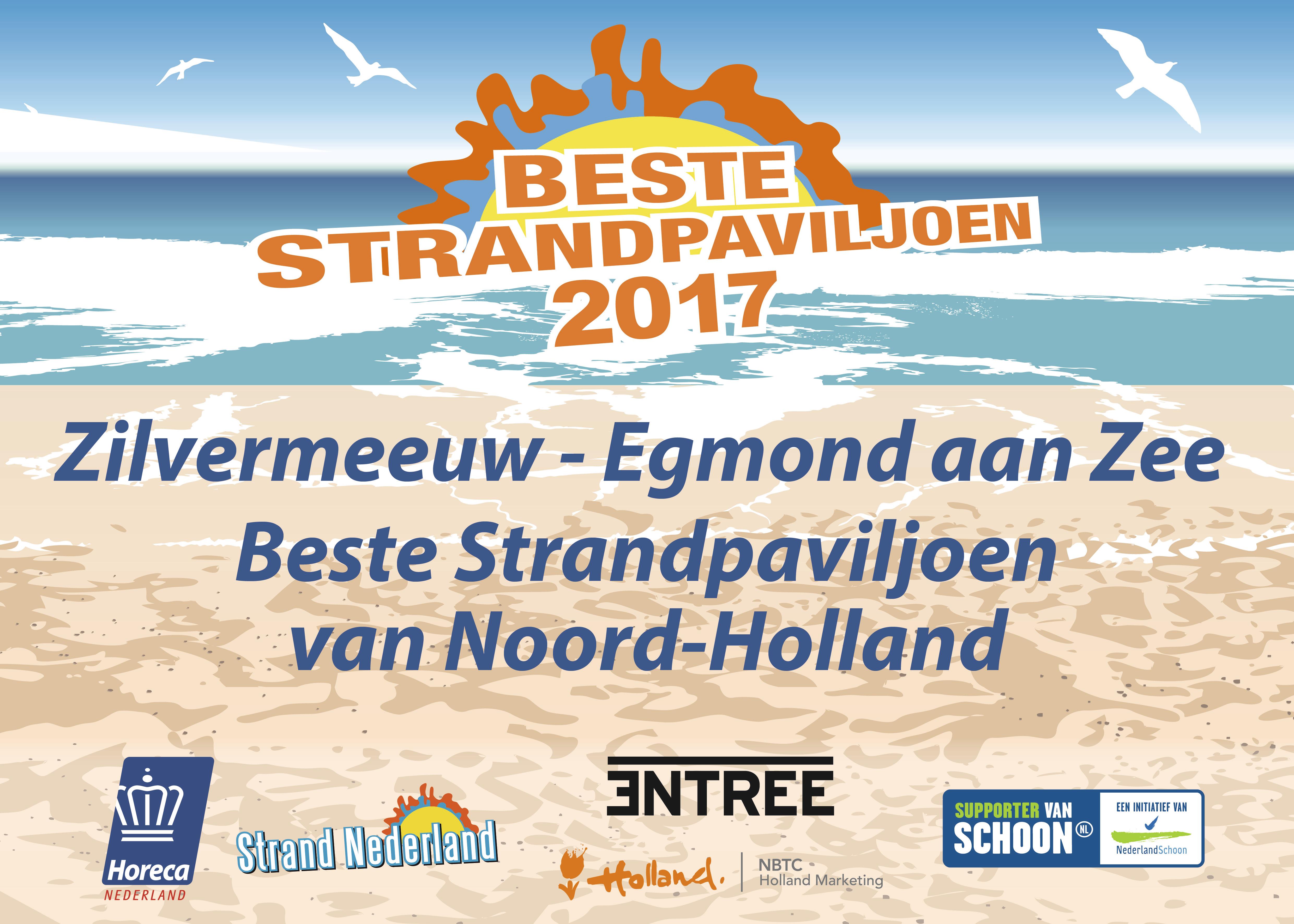 Beste Strandpaviljoen van Noord-Holland
